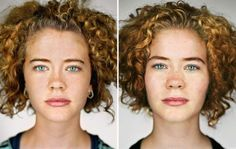 Portraits of identical twins side by side for comparison [14 pictures]