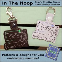 In The Hoop patterns and designs! All INSTANT DOWNLOADS!
