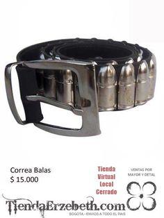 correas balas bogota metal brillante medellin tunja cucuta manizales cartagena barranquilla metaleras ventas pormayor y detal