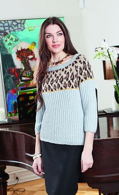 Пуловер: Burda. Creazion 3/ 2014/ 321 / Burdastyle