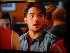 "DILAMBERT on Twitter: ""#Glee 5/ ep.10 ""Trio"" on my TV @adamlambert #AdamLambert #Glamberts…"