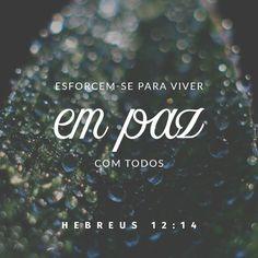 Ame a teu próximo! Seja quem for... Deus é Amor e Paz!
