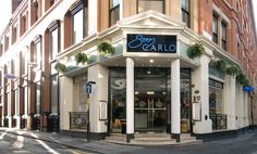 San Carlo Restaurant Manchester - GOSS Marble Marble Kitchen Worktops, Window Sill, Travertine, Terrazzo, White Marble, Places To Eat, Manchester, Entrance, Restaurants