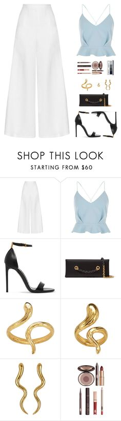 """Sin título #4633"" by mdmsb on Polyvore featuring moda, Miguelina, River Island, Tom Ford, Madina Visconti di Modrone, Charlotte Tilbury y Clinique"
