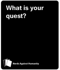This is similar to another game you may have heard of, but it is not that game. It can be played on its own, without having that other game. It's full of geeky and. Cards Against Humanity Funny, Game Night, Blank Cards, Card Games, Growing Up, Laughter, Diy And Crafts, Haha, Nerd