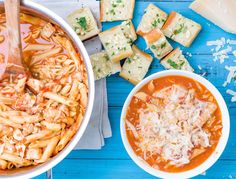 Chicken Parm Soup  -