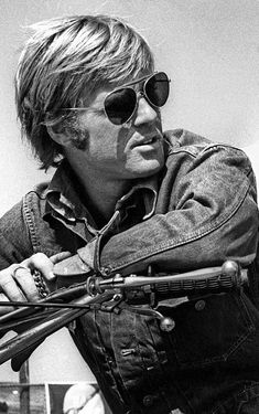 Robert Redford on the set of 1970 movie Little Fauss And Big Halsy by Steve Schapiro