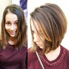 cute medium bob haircut