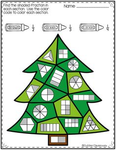 Five color by code worksheets with a winter theme. Fractions and equivalent fractions are all represented by pictures. Math Games, Math Activities, Fraction Activities, Winter Colors, Winter Theme, Math Notebooks, Math Lessons, Piano Lessons, Elementary Math