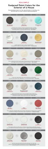 How to Pick the Perfect Paint Colors for Your House Exterior | We asked the experts for their no-fail picks.