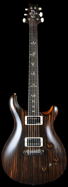 PRS private stock #4051 P22 madagascar ebony  Always wanted Madagascar ebony. It has such a beautiful tone to it.