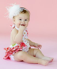 Take a look at this Cake Ruffle Bodysuit - Infant by Jelly The Pug on @zulily today!