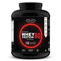 Compare & Buy Sinew Nutrition Instantised Whey Protein Concentrate 80% Raw & Unflavoured 3 Kg (100 Servings) Supplement Powder - Mogul