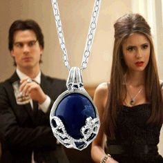 Katherine Pierce Daylight Pendant Necklace The Vampire Diaries Jewelry Cosplay Jewelry