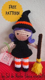 Amigurumi Freely: Adorable Little Witch