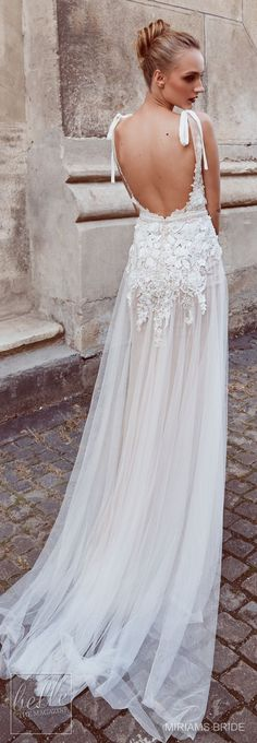 Wedding Dress by Miriams Bride 2018 Collection #weddingshoes