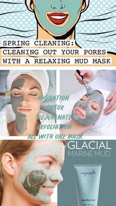 Epoch Mud Mask, Marine Mud Mask, Glacial Marine Mud, Galvanic Spa, Nu Skin, Cosmetics & Perfume, Spring Cleaning, Body Care, Skin Care