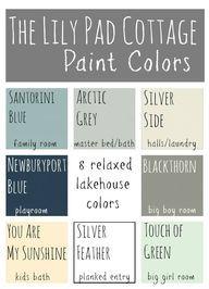 Lily Pad Cottage Paint Colors - 8