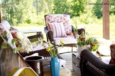 Creative-Cain-Cabin-Summer-Porch