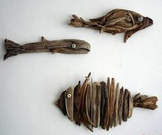 15 DIY Driftwood DIY Fine art to generate Stunning Decors - Valuable DIY Assignments Driftwood Fish, Driftwood Lamp, Driftwood Projects, Driftwood Sculpture, Diy Projects, Driftwood Ideas, Driftwood Wreath, How To Make Trees, Homemade Lamps