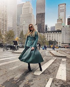 Dear New York, I will never get over You. Junior Mints, Get Over It, Midi Skirt, New York, Tulle, Ootd, Street Style, Clothes For Women, Skirts