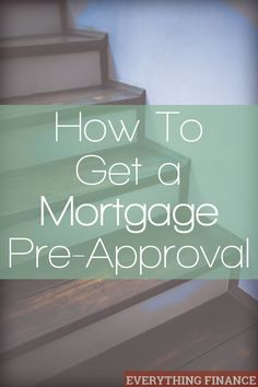 If you're in the market to buy a new home, getting pre-approved for a mortgage will help you. Find out how to prepare to get pre-approved. Credit, Credit Scores, Credit Repair #credit #creditscore