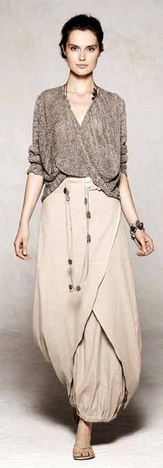 Sarah Pacini '12 I like everything except the pants sticking out, I would rather it be another layer of skirt (CK)