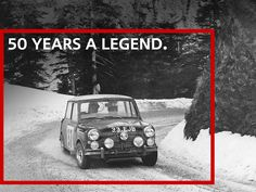 Small car, huge victory. It's been 50 years since a MINI win at the Monte Carlo Rally!