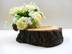 7 Wood Slice Log Cake Stand Wood Cake Stand Nature