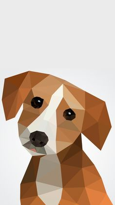 Animals Vectors, Photos and PSD files Dog Quilts, Animal Quilts, Barn Quilts, Geometric Drawing, Geometric Art, Geometric Animal, Beagle Art, Tableau Design, Polygon Art
