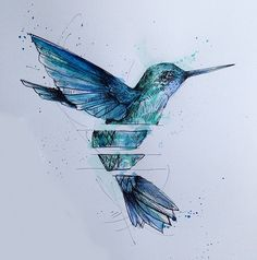 Hummingbird by Basha Alfred