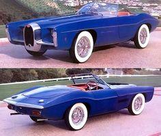 Ghia Exner Bugatti T101C 1965