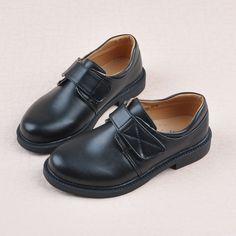1813c2f03c4 kids black leather male cos uniform shoes sneakers for kids boys shoes .