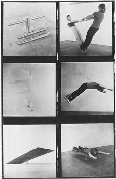 Chris Burden, untitled, 1968-9 (undergraduate project, Pomona College)