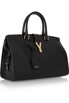 227f110fcb621 Saint Laurent - Cabas Chyc medium leather shopper. Ysl PurseDust ...