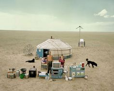 You and everything you own. Photos series by Huang Qingjun.