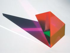 Acrylic/lucite prism by Phillip Low