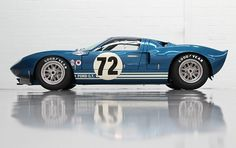 1964 Ford GT40 Prototype This is the car I referred to in my last pin. Still breath taking!