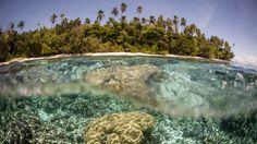 Der steigende Meeresspiegel hat schon fünf Inseln der Salomonen im Südpazifik versinken lassen. Sechs weitere Inseln sind von Erosion bedroht.