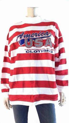 Trends USA America Womens size L Cotton High-Low Hem Crew Sweatshirt White CHOP | eBay