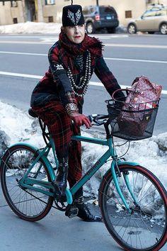 bikes and fashion, perfect match