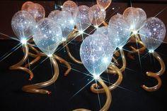 Sparkle Collars in balloon decor