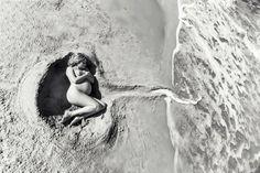Yemaya's womb ❤️ if you know the photographer... - Mandala Journey - Birth Art Mandalas by Amy Haderer