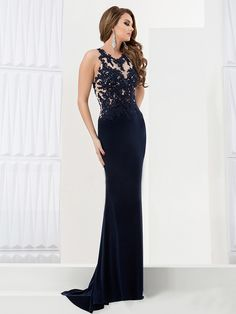 Simple Dress Black Prom Dresses, Mermaid Chiffon Long