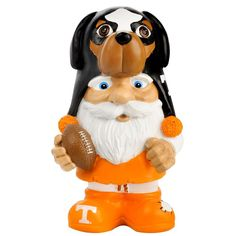 Tennessee Volunteers NCAA Mad Hatter Gnome