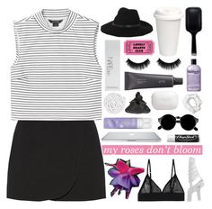 """""""SO OVER YOU"""" by starry-skies-in-the-city ❤ liked on Polyvore featuring GHD, Jill Stuart, Monki, By Malene Birger, NARS Cosmetics, Bite, philosophy, Erva, American Apparel and H2O+"""
