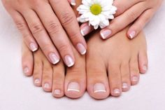 Creative French Pedicure At Home In An Affordable Price - Yabibo