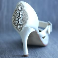 "Donna Crain provides an embellished Shoe Service, to make you feel extra special on your Big day!  For more Alternative Wedding inspiration, check out the No Ordinary Wedding article ""20 Quirky Alternatives to the Traditional Wedding""  http://www.noordinarywedding.com/inspiration/20-quirky-alternatives-traditional-wedding-part-2"
