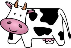 Cow Clip Art Free Cartoon | Clipart Panda - Free Clipart Images