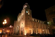 Lucera by night, Apulia region, Foggia province, South Project @AtavolaDauni #gargano  #atavolaconidauni